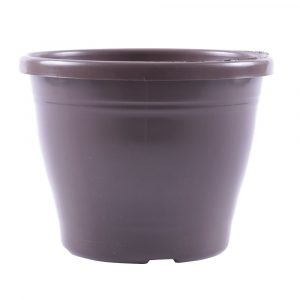 Vaso Nutriplan Plástico Primavera cor Tabaco N 02