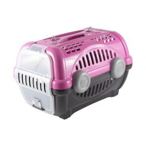 Caixa de Transporte Luxo N01 Rosa Furacão Pet