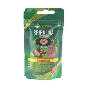 Ração Tropical Spirulina Super Forte Granulat 30g
