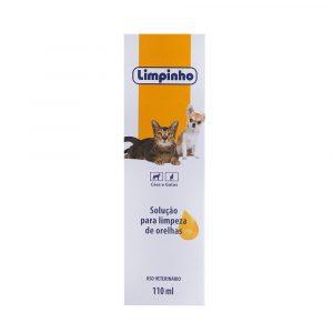 Solução para Limpeza de Cães e Gatos Limpinho 110mL