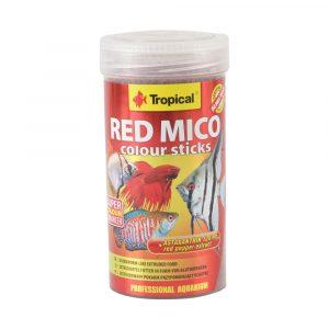 Ração para Peixe Red Mico Colour Sticks 80g