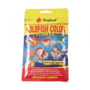 Ração Tropical Goldfish Color Flakes Sachê 12g