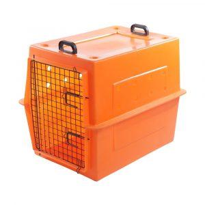 Caixa de Transporte Pet Tour MOD400 Laranja