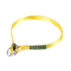 Colar Enforcador de Poliéster K-9 Tamanho P Amarelo