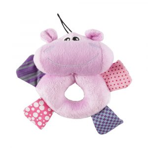 Brinquedo de Pelúcia Hipopótamo Savana Pet