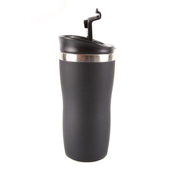 Copo Aço Inox MOR 450mL Coffee Preto