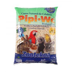 Cama Natural de Celulose Aroma Erva Doce Pipi WC 2Kg Zootekna