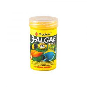 Ração Tropical 3 Algae Flakes 20g