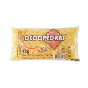 Cascalho Decopedras Amarelo Escuro 1Kg