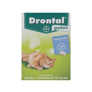 Vermífugo Drontal para Gatos
