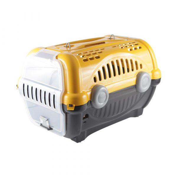 Caixa de Transporte Luxo N03 Amarela Furacão Pet
