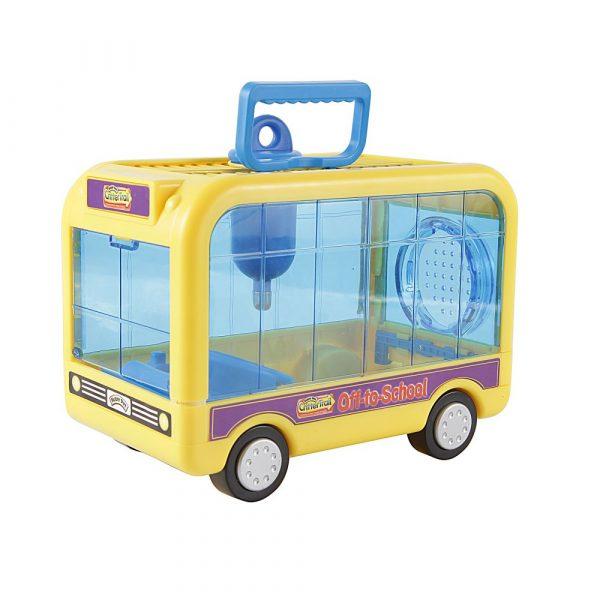 Acessório para Gaiola Hamster Ônibus Amarelo 48283