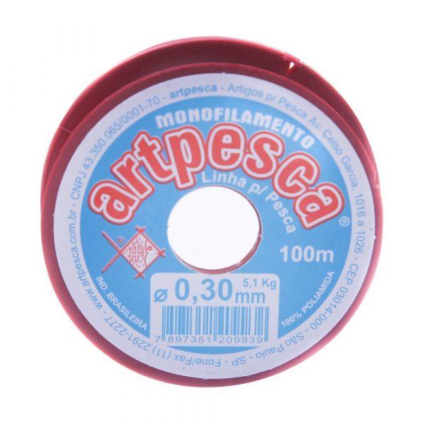 Linha de Nylon 0,30mm Artpesca