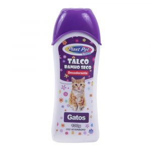 Talco para Gatos Plast Pet Care 100g
