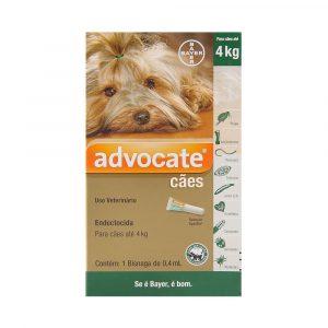 Advocate para Cães com até 4Kg
