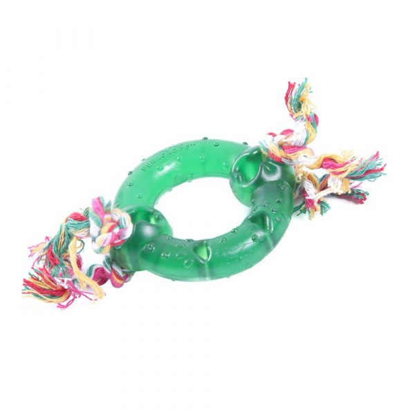 Brinquedo Anel Maciço PVC com Corda Nº01 P0469