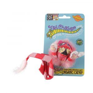 Brinquedo para Gatos Tailchasers com Catnip Vermelho