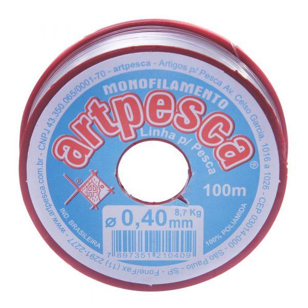 Linha de Nylon 0,40mm Artpesca