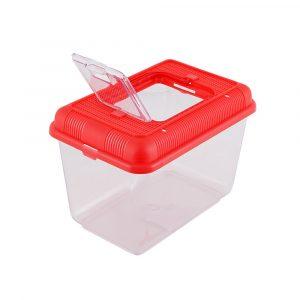 Aquário Plástico SPF-8802 Vermelho