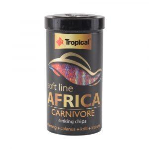 Ração Tropical Soft Line Africa Carnivore 130g