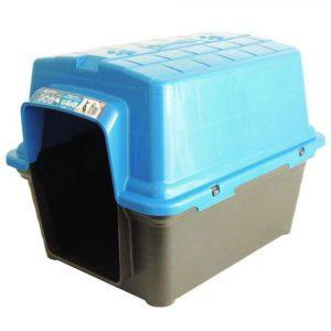 Casinha Plástica N04 Furacão Pet Azul
