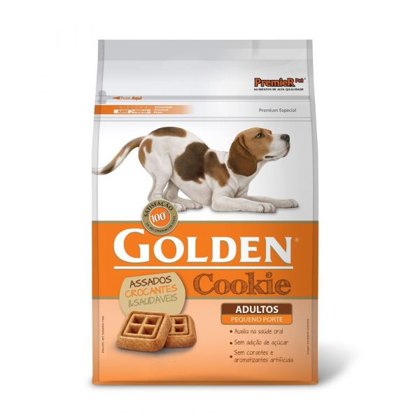 Petisco Golden Cookie para Cães Adultos de Pequeno Porte 250g