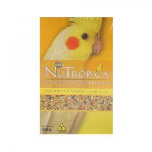 Ração NuTrópica para Calopsita à Base de Mel e Ovos 300g