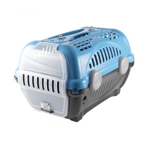 Caixa de Transporte Luxo N03 Azul Furacão Pet