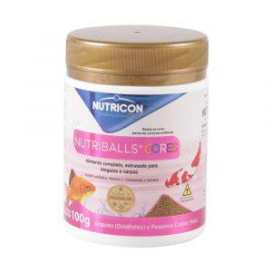 Ração Nutricon para Peixe Nutriballs Cores 100g