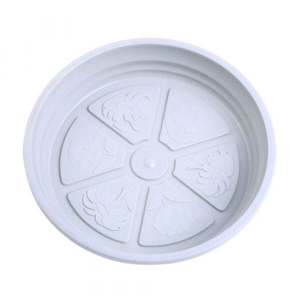 Prato Plástico Nutriplan Mármore N1.5