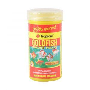 Ração Tropical para Peixe Goldfish Colour Pellet 45g