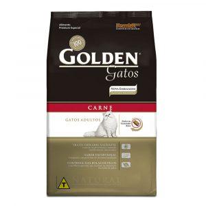 Ração Premier Golden Gatos Adultos Sabor Carne 3kg