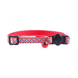 Coleira para Gato Fashion Plaid Brick Petmate