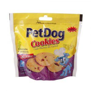 Pet Dog Cookies Sabor Carne 80g