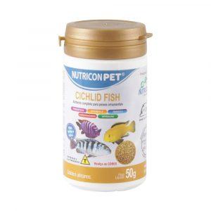 Ração Nutricon para Peixes Cichlid Fish 50g