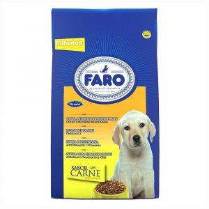 Ração Faro para Cães Filhotes Sabor Carne 2kg