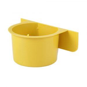 Comedouro com Aba N07 Jel Plast Amarelo