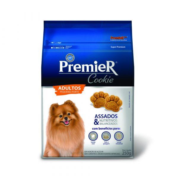 Petisco Premier Cookie para Cães Adultos de Pequeno Porte 250g
