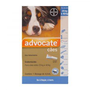 Advocate para Cães de 25 à 40Kg 4,0ml