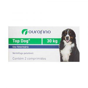Vermífugo Top Dog para Cães de até 30Kg 02 Comprimidos