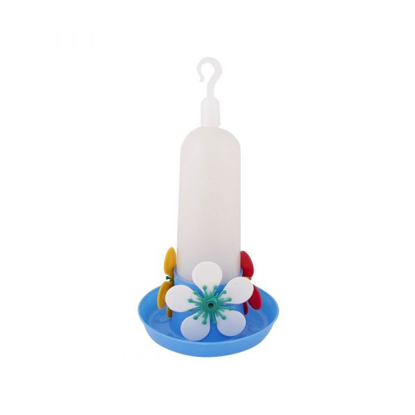 Bebedouro Beija-Flor com Bandeja Mini Azul Jel Plast 15A