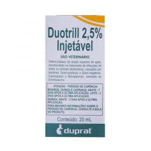 Duotril 2,5% Injetável 20mL