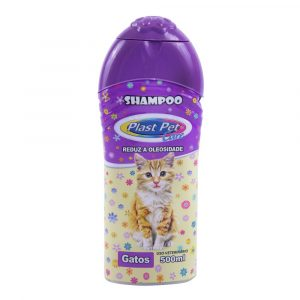Shampoo para Gatos Plast Pet Care 500mL