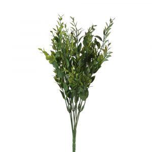 Bouquet Artificial Folhas Escuras FL10424