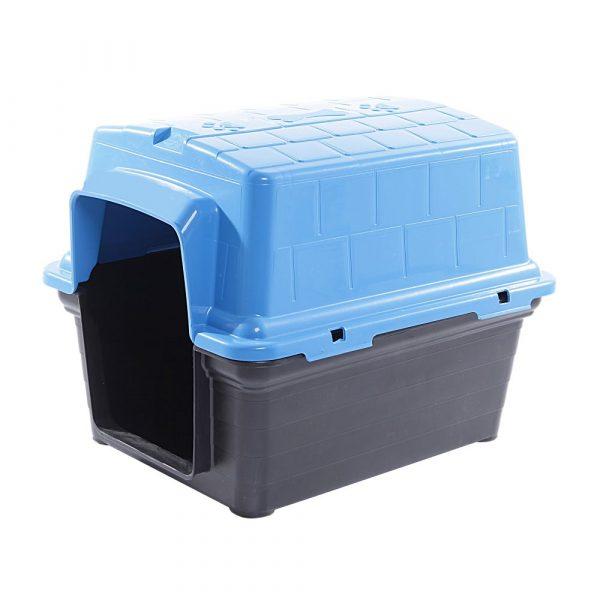 Casinha Plástica N01 Furacão Pet Azul
