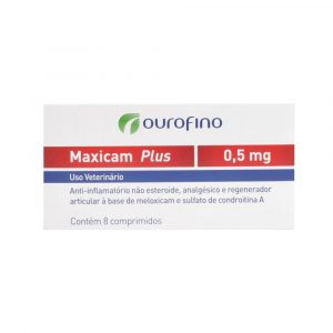 Maxicam Plus 0,5mg com 8 Comprimidos