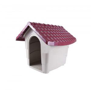 Casinha para Cães Nº01 Vinho Plast Pet
