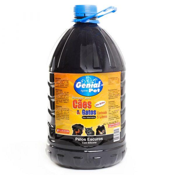 Shampoo Genial Pet Pelos Escuros 05L Frutas