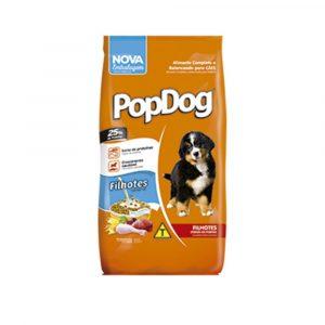 Ração Pop Dog Júnior para Cães Filhotes 20 Kg