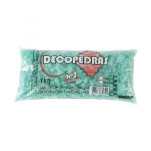 Cascalho Decopedras Verde Escuro 1Kg